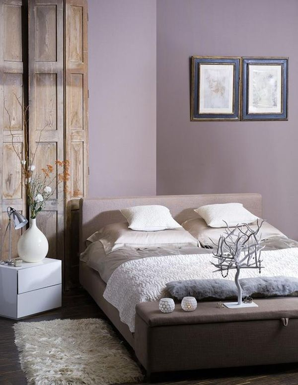 Love the wall color - possibility for my bedroom.