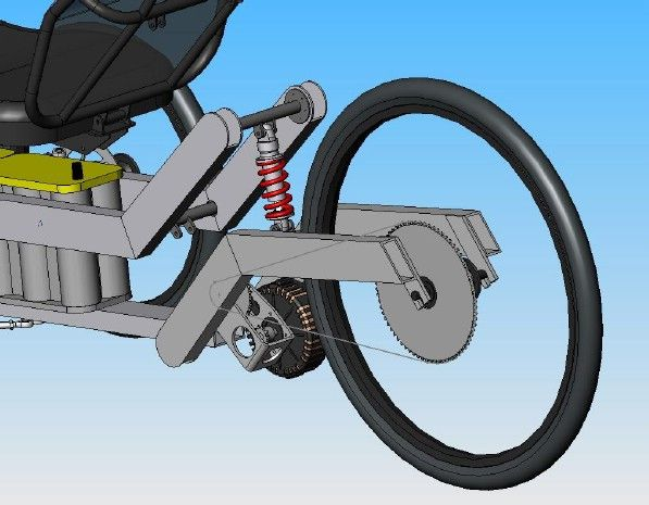Rear Swing Arm and Front Suspension Design | Trike