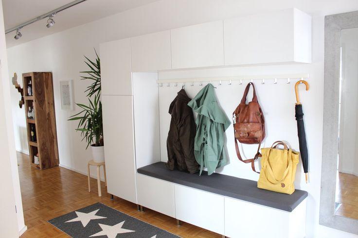 die besten 17 ideen zu flurgarderobe auf pinterest garderobenschrank garderobe flur und diy. Black Bedroom Furniture Sets. Home Design Ideas