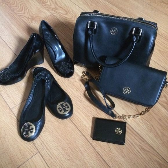 Torry Burch my black collection. authentic. All my staff brand new or like brand new. All bags with dust bag. Tory Burch Bags