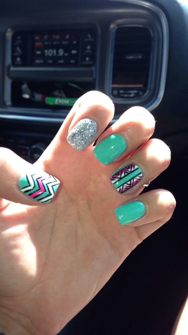 Seriously obsessed with my nails solar powder on real nail is genius! - 110 Best Solar Nail Designs Images On Pinterest Make Up, Pretty