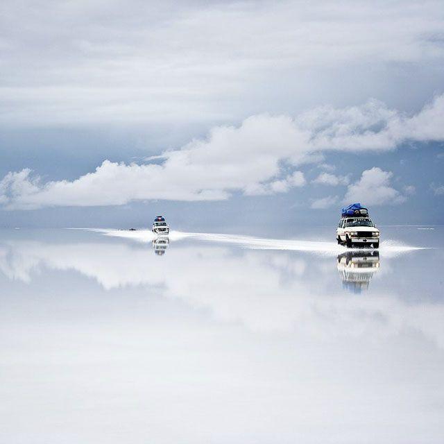 Salt Desert of Uyuni, Bolivia