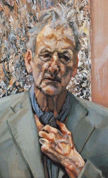 Self Portrait, oil, Lucian Freud 2002 (248)