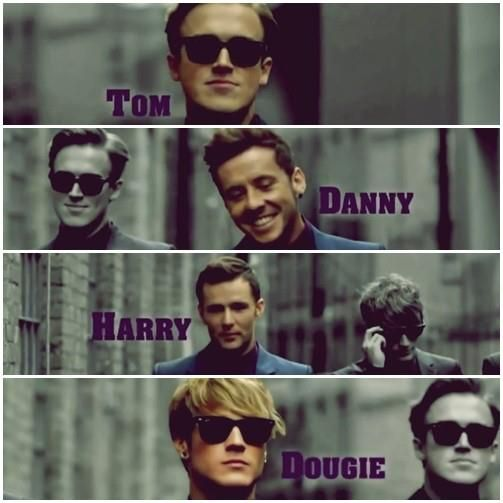 Tom, Danny, Harry and Dougie