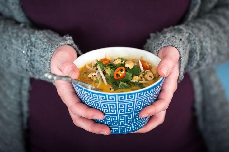 Uitbreiding op komst ❤ | Laksa - Maleisische curry soep-Voedzaam & Snel