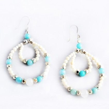 Jewellery earrings: handmade earrings, hoop, stud & drop silver earrings
