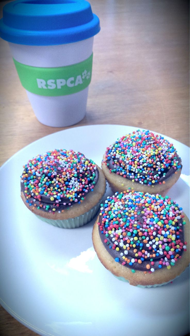Share a cuppa and a cupcake to help support the RSPCA http://www.rspcacupcakeday.com.au/