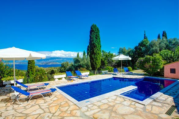 Villa Anatoli, Agios Stefanos, Corfu, Greece. Find more at www.villaplus.com