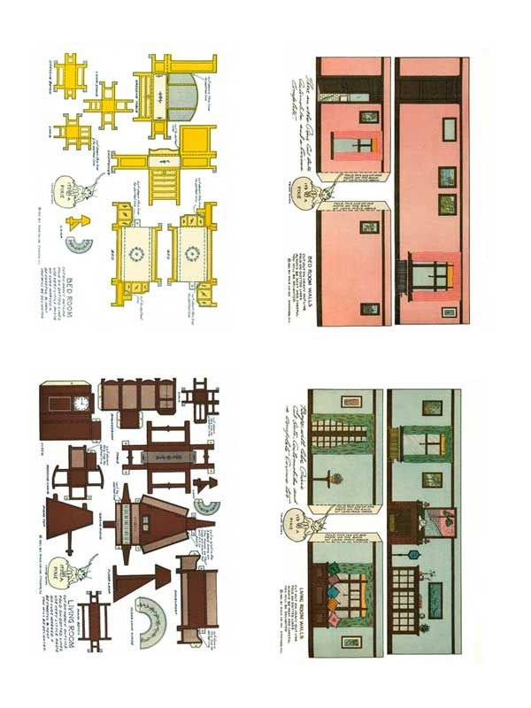 1920's Home Interiors Paper Model - Free Paper Toys and Models at PaperToys.com#.Vo7UX__Sncc#.Vo7UX__Sncc#.Vo7UX__Sncc