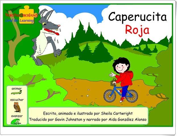 """Caperucita Roja"" de Sheila Cartwright (Cuento interactivo online)"