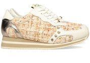 Beige/Bronzen/Roze/Witte Liu Jo schoenen Running Cyril sneakers