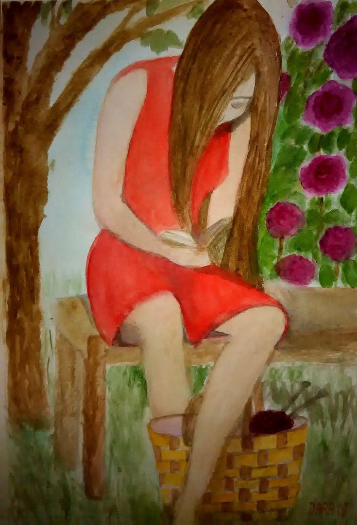 oddych akvarel