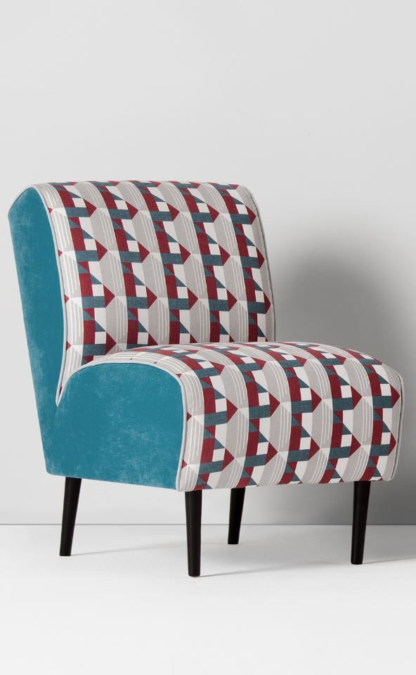 Piccadilly Accent Chair, £299 MADE.COM for the London Underground Collection. If you've travelled on the Tube, you know how precious a seat is. But you won't have to worry about that anymore - you can have a seat whenever you want with the Piccadilly accent chair.