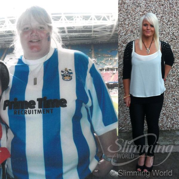 Amy Richardson lost 7st 11.5lbs, dropping from a size 24 to a size 12, to achieve her dream of becoming a PE teacher. Now she's a fit, healthy and active mummy and Amy, from Wakefield in West Yorkshire, was named Slimming World's Miss Slinky 2014. Read and be inspired by Amy's story here: http://www.slimmingworld.com/success-stories/amy-richardson.aspx