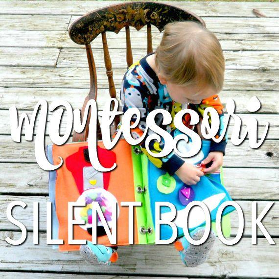Montessori: silent book per bambini - http://www.babygreen.it/2016/11/montessori-silent-book-bambini/
