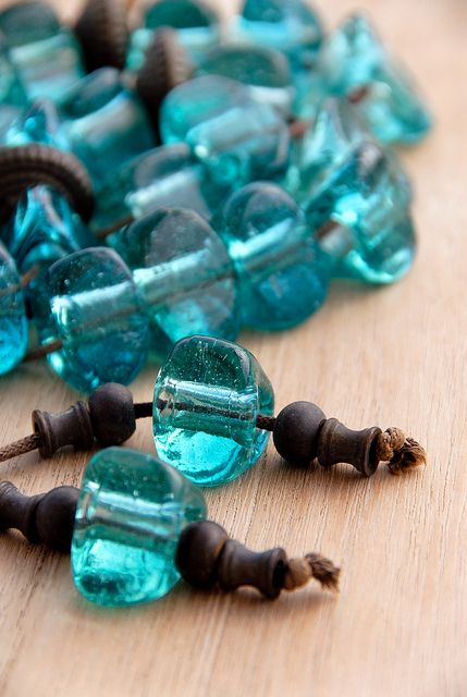 Worry beads or kombolói is a string of beads manipulated with one or two hands and used to pass time in Greek and Cypriot culture.