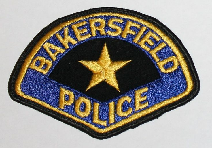 Very Old BAKERSFIELD POLICE Kern County California CA PD Vintage FELT Used patch • $25.19 - PicClick