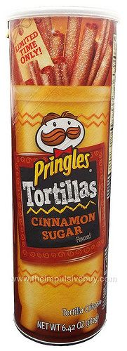 REVIEW: Limited Time Only Cinnamon Sugar Pringles Tortillas | The Impulsive Buy