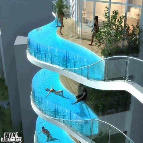 Balcony pools: James Of Arci, Towers, Glasses, Swim Pools, Balconies, Aquarium, Mumbai India, So Cool, Hotels