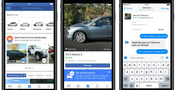 Learn about Facebook will pull used car ads into its Marketplace http://ift.tt/2i6XFlS on www.Service.fit - Specialised Service Consultants.