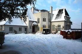 Skjerns (vinter)villa, der ligger i Holte