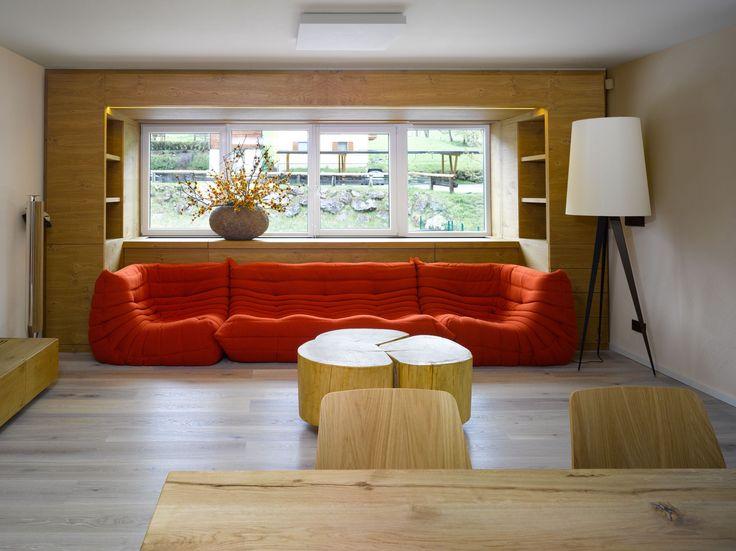 Interiér apartmánu v Rakousku   VYŠEHRAD atelier