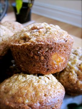 Healthy On-The-Go Breakfast or Snack: Banana Walnut Quinoa Muffins