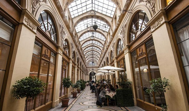 Galerie Vivienne pour le Journal à Paris (Mairie de Paris / Emilie Chaix)