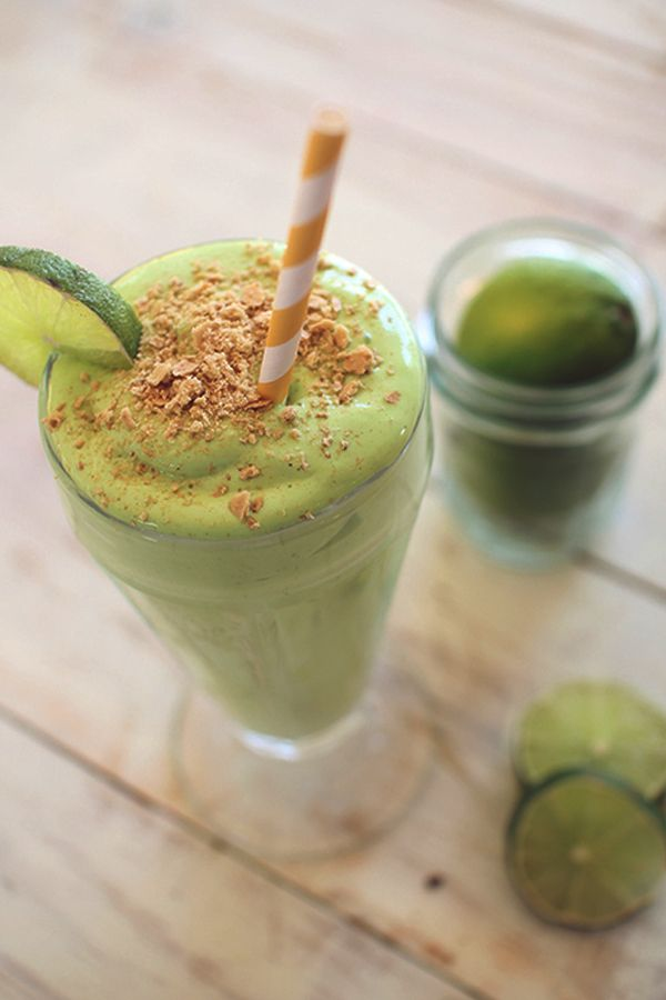 Key Lime Pie Protein Shake - (Low-Carb Smoothies You Can Make At Home) #keto #ketogenic #CleanEating #low_carb