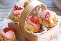 Strawberry cupcakes – Recipes – Slimming World