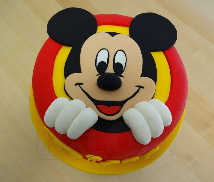 Mickey Mouse   Mickey Mouse  #featured-cakes #disney #mickey-mouse #top-cakes #cakecentral