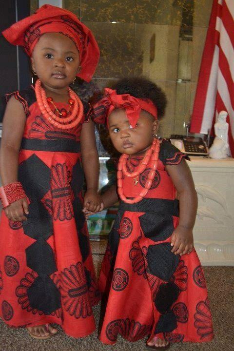 African kitenge fashion Design Dress for Kids