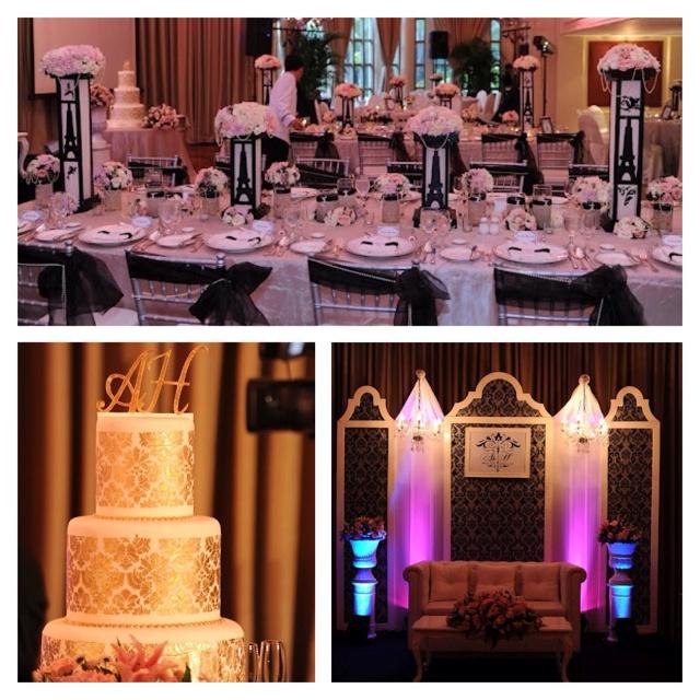 Paris Themed Wedding Reception Ideas: French Themed Wedding Reception