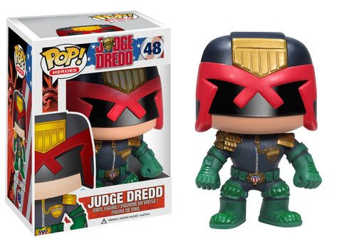 Funko POP! Heroes : Judge Dredd