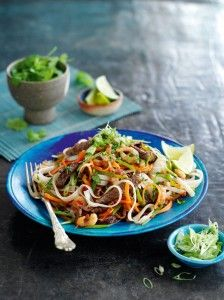 For a real Thai treat, this speedy beef pad Thai recipe from Slimming World is a guaranteed winner.