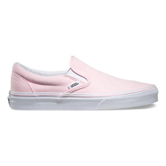 Baby Pink Vans Shoes