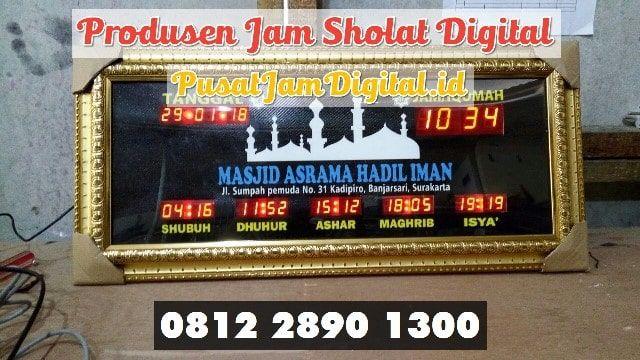 Jadwal Sholat Running Text Di Lahat Di 2020 Jam Dinding