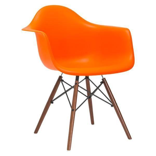 EdgeMod Vortex Arm Chair Walnut Leg