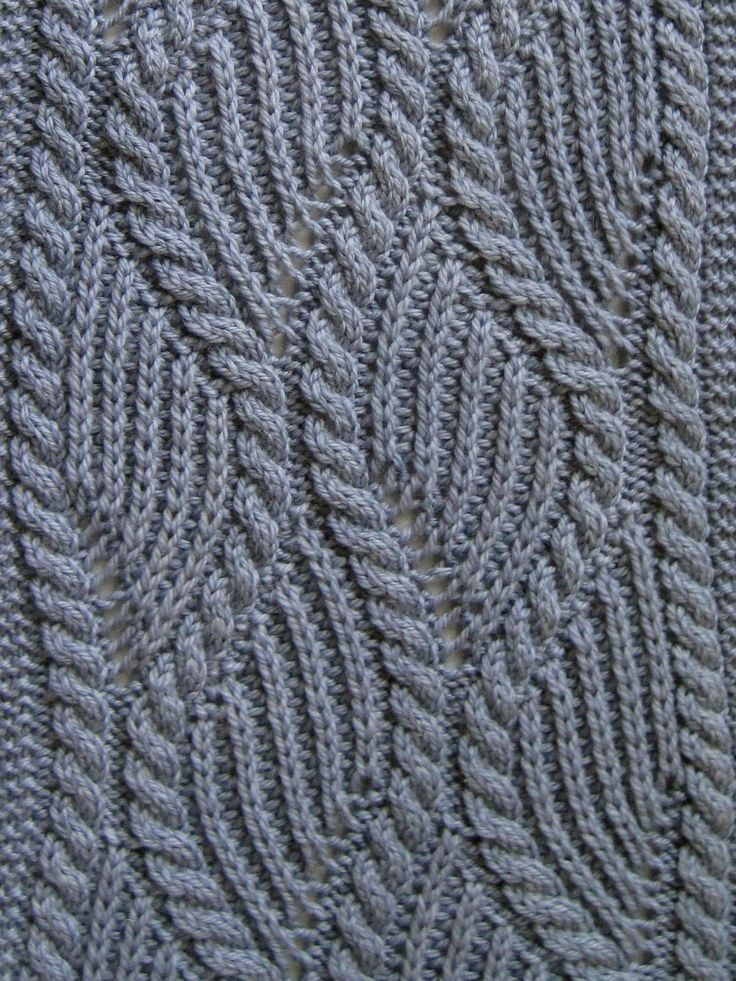 Knit Scarf Pattern:  Brioche and Traveling Cable Knitting Scarf Pattern. $6,50, via Etsy.