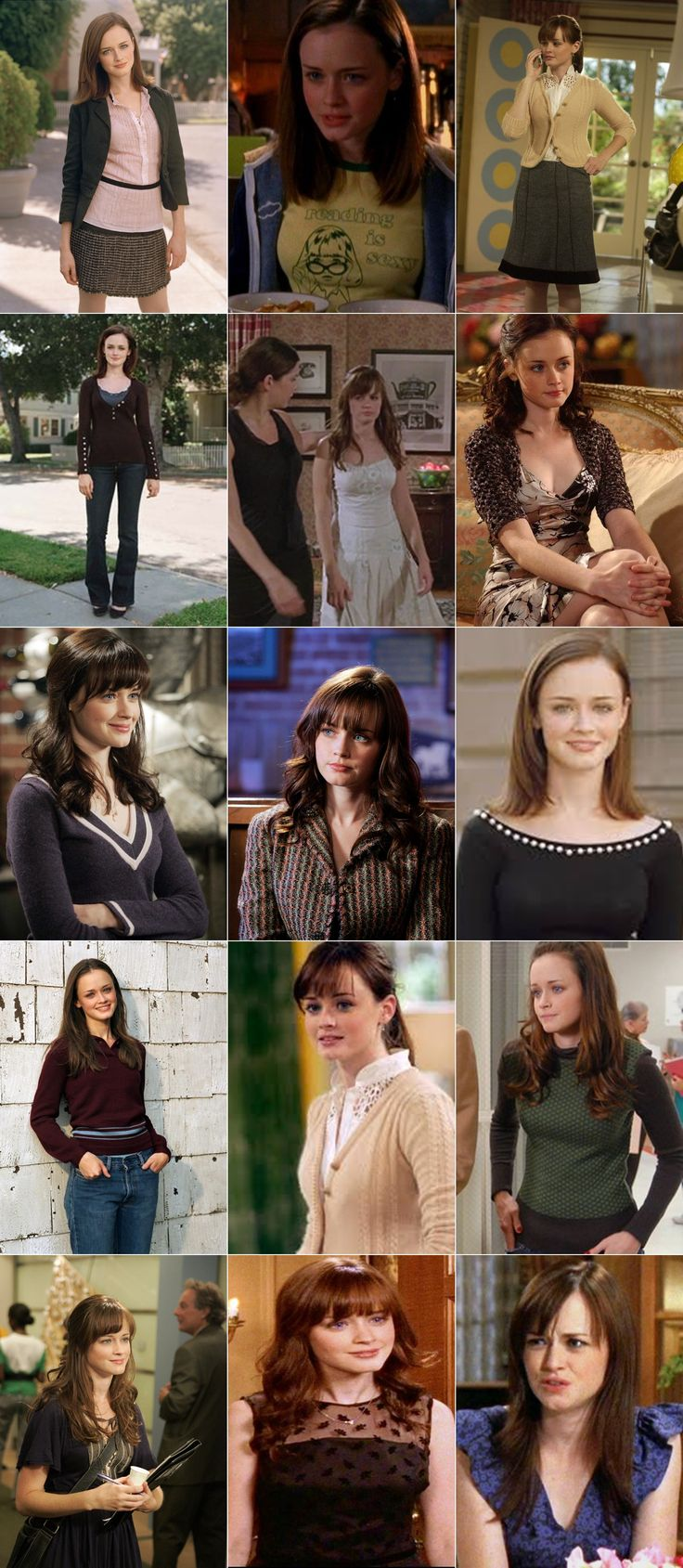 25 best ideas about rory gilmore hair on pinterest alexis bledel rory gilmore and season 7. Black Bedroom Furniture Sets. Home Design Ideas