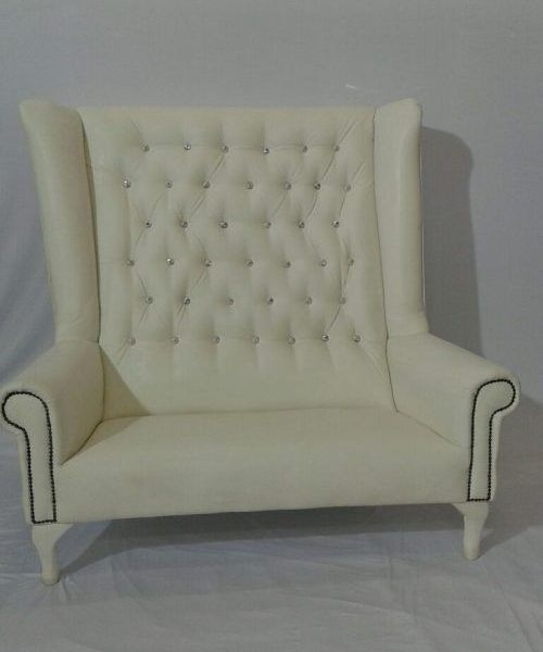 WDC009 2 seater high wingback