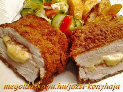 2.) Sajttal, baconnal töltött csirkemell rozsos bundában http://megoldaskapu.hu/csirkemell-receptek/sajttal-baconnal-toltott-csirkemell-rozsos-bundaban Sajttal, baconnal töltött csirkemell rozsos bundában | CSIRKEMELL Receptek | Megoldáskapu