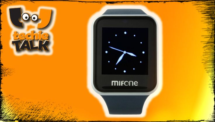 MIFONE W15 : smartwatch with 2.5D curved Sapphire touch screen for just ...