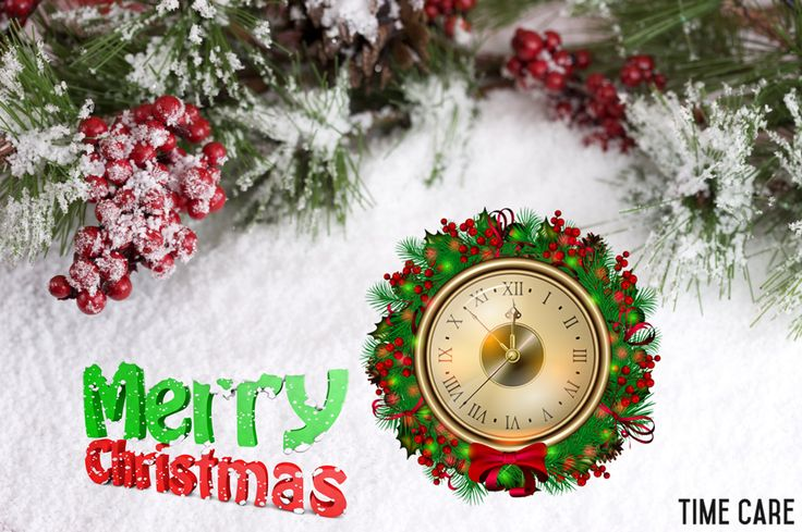 Here's wishing you all a #MerryChristmas from Time Care !