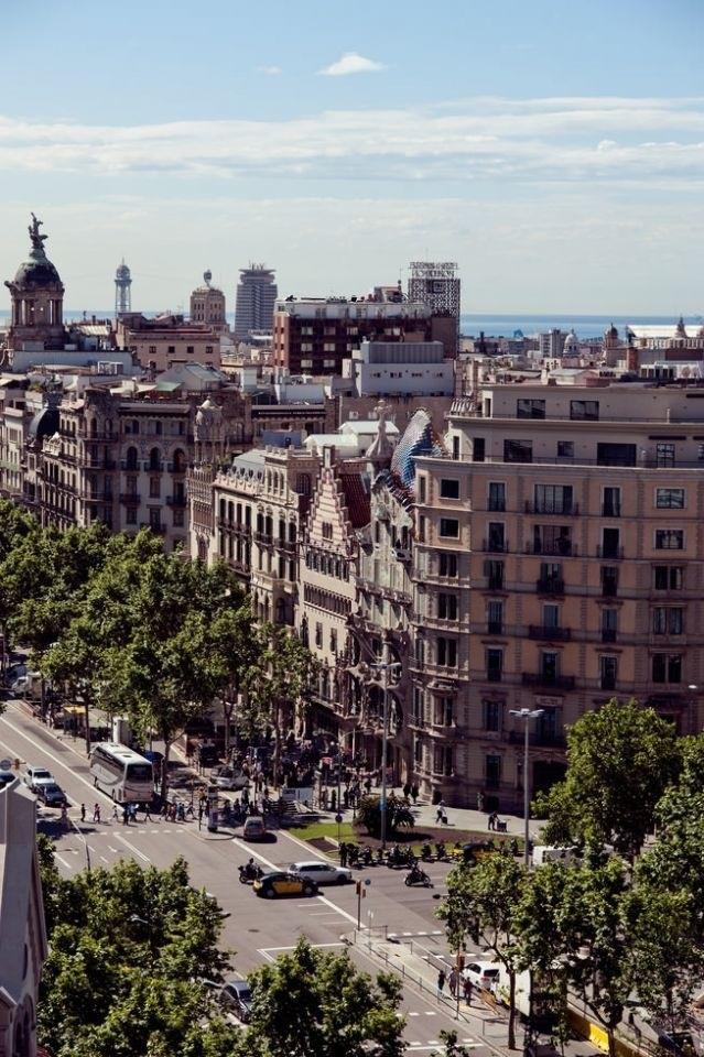 Passeig de Gracia, Barcelona (Catalunya - Catalonia)
