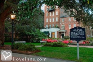 Planters Inn in Savannah, GA.