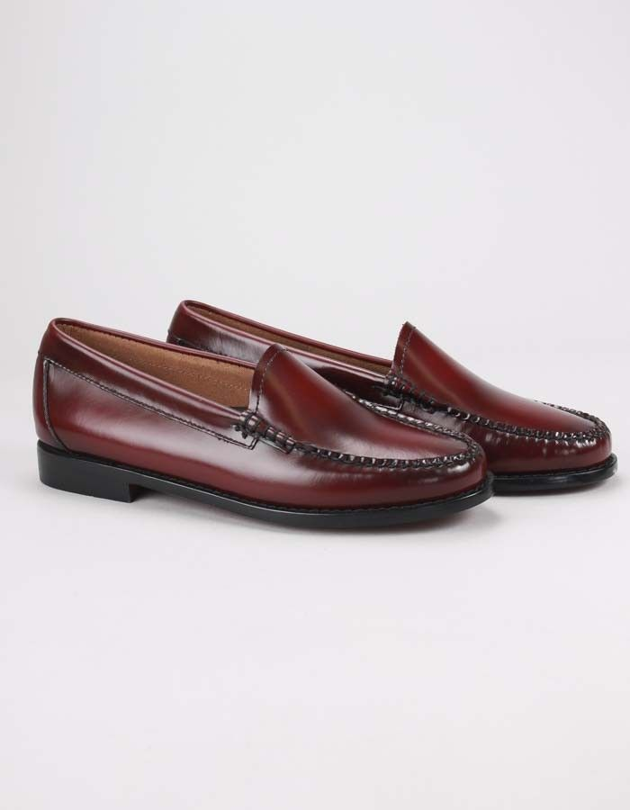 Gh Bass Weejun Lillian Wine | Accent Clothing