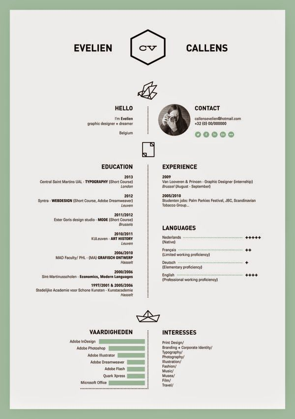 18 best resume images on Pinterest Resume, Resume ideas and - resume for interior designer