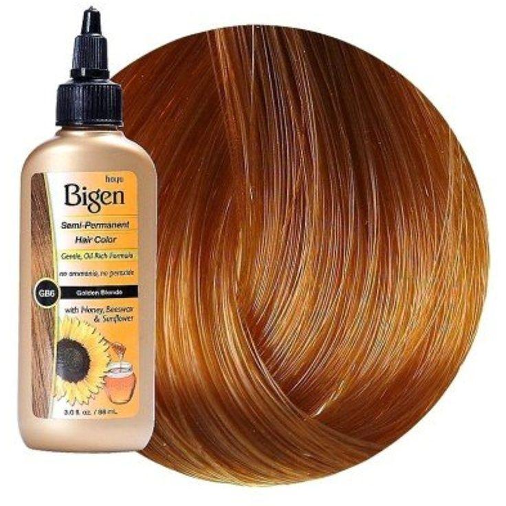 Bigen Semi-Permanent Haircolor  #PersonalCare
