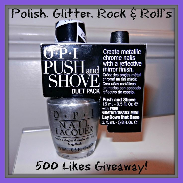 Polish. Glitter. Rock & Roll!: 500 Likes Giveaway!
